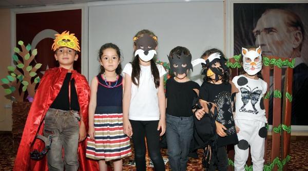 Çocuklar Hayal Dünyalarını Masallarla Anlattılar