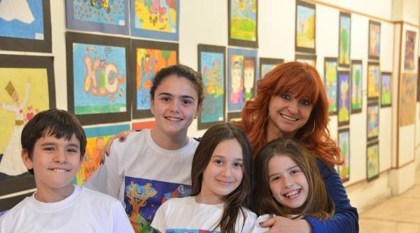 Çocuklarin Gözünden 'benim Mevlanam' Resim Sergisi