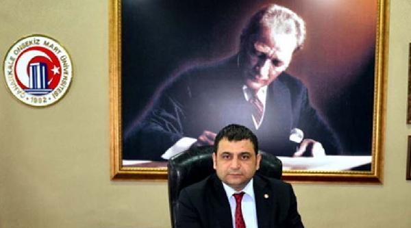 Çomü Rektörü Laçiner'den Gazze Tepkisi