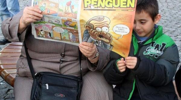 Çomü'deki Soruşturmalara Karikatür Okuyarak Tepki