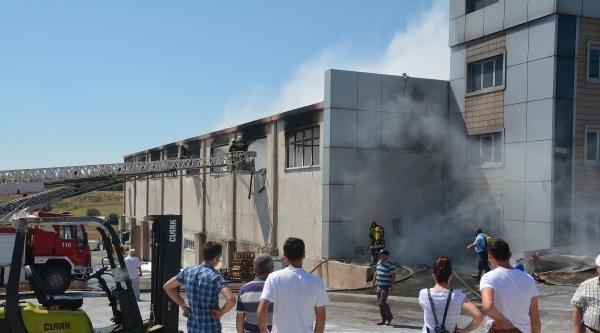 Çorlu Kimyasal Fabrikasında Büyük Yangın (2)