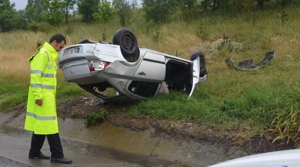 Çorlu Tem'de Kaza: 5 Yaralı
