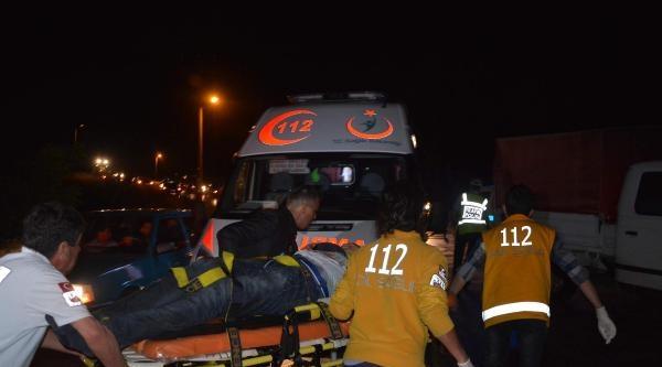 Çorlu'da Kaza: 3 Yaralı