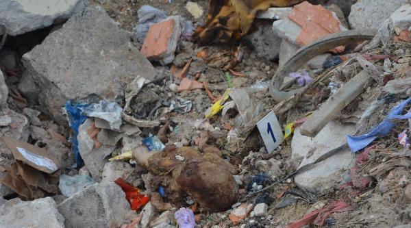 Çorlu'daki Çöplükte Bebek Cesedi