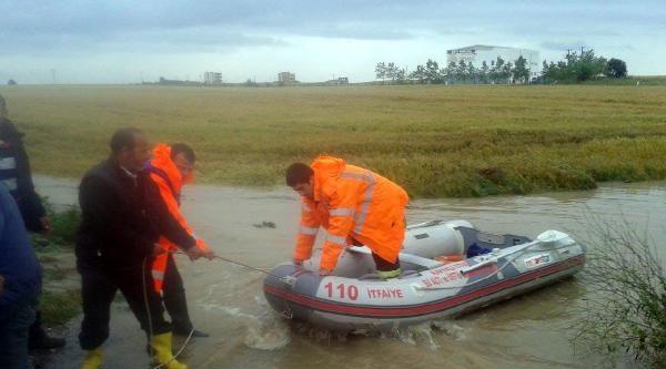 Çorlu'ya İki Günde 55 Kilogram Yağış Düştü (2)