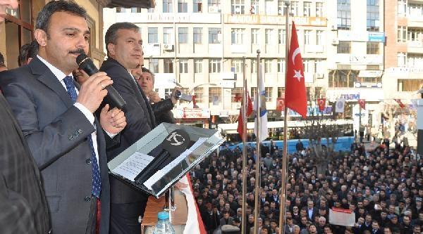 Çorum Belediye Başkani Külcü Mehter Takimiyla Karşilandi