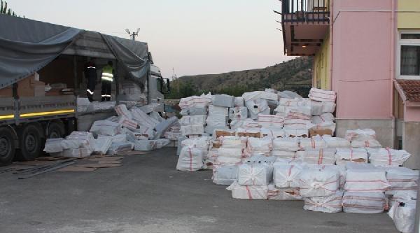 Çorum'da 590 Bin Paket Kaçak Sigara Ele Geçirildi