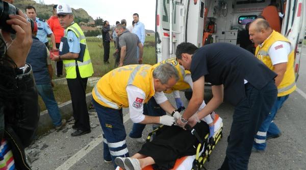 Çorumda Kaza: 11 Yaralı