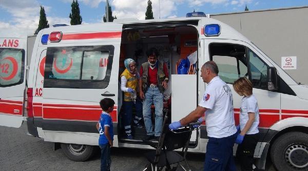 Çorum'da Kaza: 1 Ölü 7 Yaralı