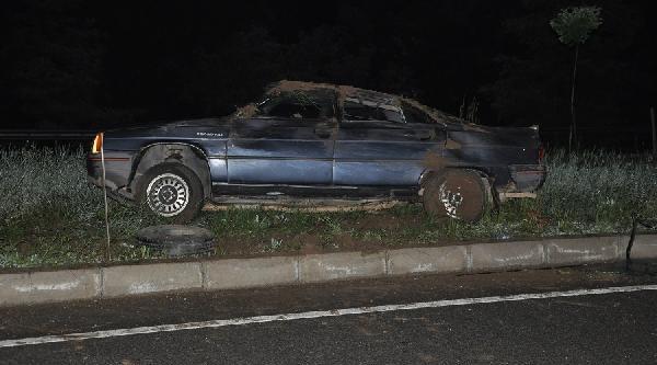 Çorum'da Kaza: 2 Yaralı