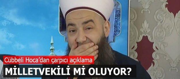 Cübbeli Ahmet Hoca aday mı oluyor?