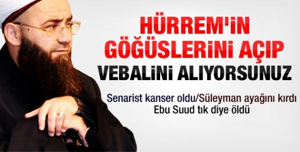 Cübbeli Ahmet Hoca Muhteşem Yüzyıl hakkında sert konuştu !