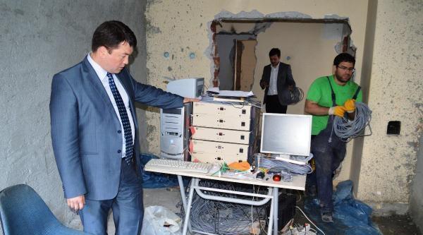 Çubuk'ta 'deprem Etki Deneyi' Tatbikatı Tamamlandı