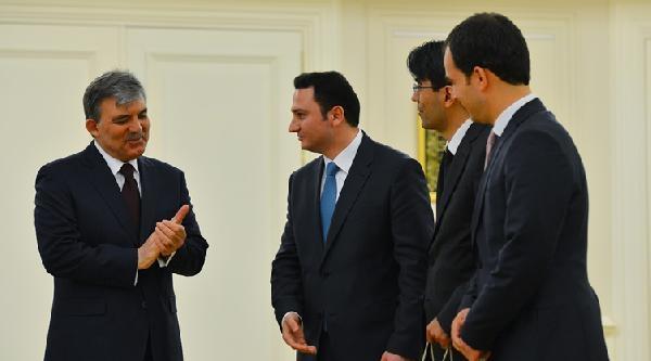 Cuhmurbaşkanı Gül, Kaymakam Adaylarını Kabul Etti