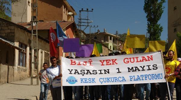 Çukurca'da Halaylı 1 Mayıs Kutlaması