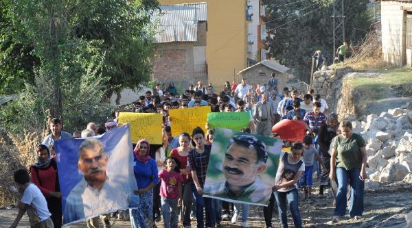 Çukurca'da Işid Protestosu