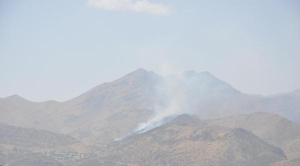 Çukurca'da Orman Yangını