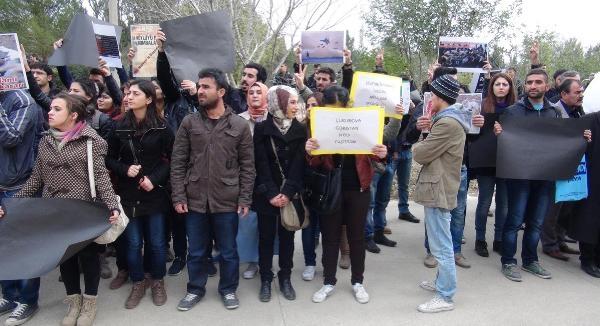 Çukurova Üniversitesi'nde Uludere'de Ölenler Anildi