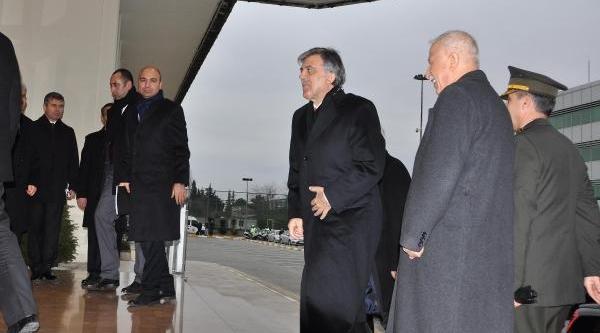 Cumhubaşkani Gül Ankara'ya Gitti