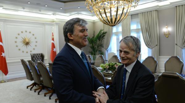 Cumhurbaşakanı Gül, Kırımoğlu'nu Kabul Etti