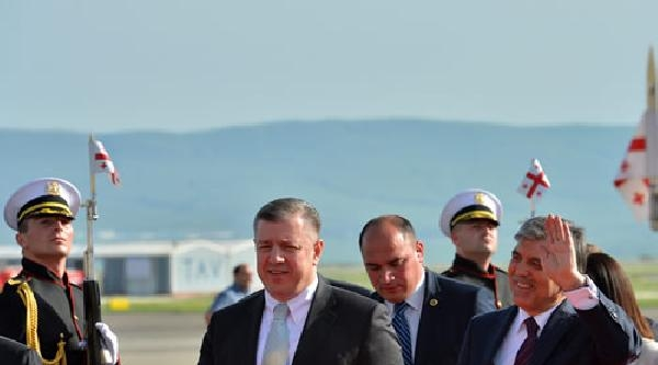Cumhurbaşkanı Abdullah Gül Gürcistan'da