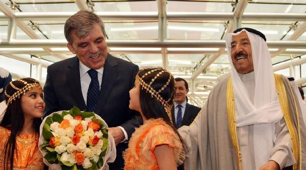 Cumhurbaşkanı Abdullah Gül, Kuveyt'te (ek Fotoğraflar)