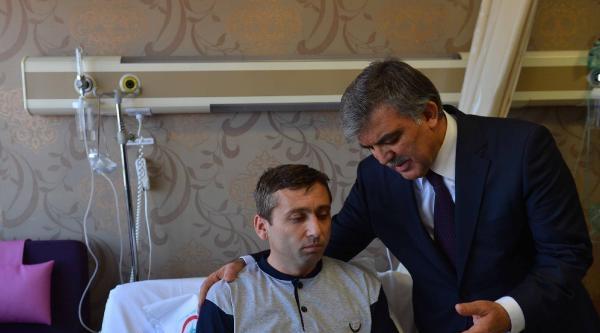 Cumhurbaşkanı Abdullah Gül, Yaralıları Ziyaret Etti / Fotoğraflar