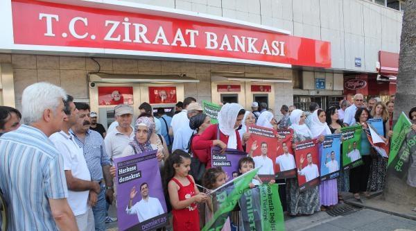 Cumhurbaşkanı Adayı Demirtaş'a İzmir'den Bağış