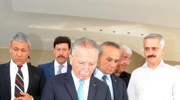 Cumhurbaşkanı Adayı Ekmeleddin İhsanoğlu Adana'da