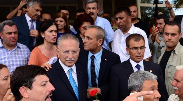 Cumhurbaşkanı Adayı Ekmeleddin İhsanoğlu Adana'da (2)