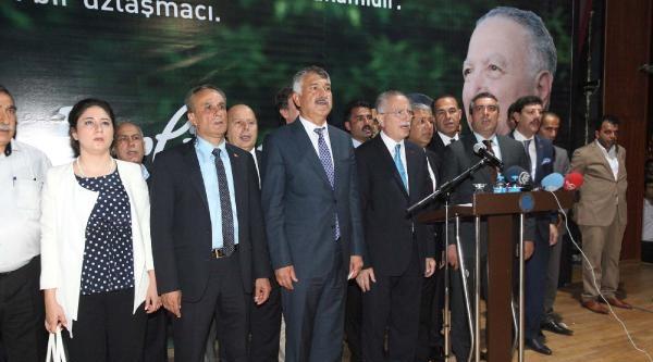 Cumhurbaşkanı Adayı Ekmeleddin İhsanoğlu Adana'da (3)