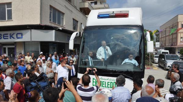 Cumhurbaşkanı Adayı Ekmeleddin İhsanoğlu Adana'da (4)