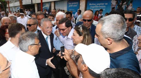 Cumhurbaşkanı Adayı Ekmeleddin İhsanoğlu Adana'da (5)