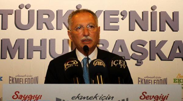 Cumhurbaşkanı Adayı Ekmeleddin İhsanoğlu Adana'da (7)