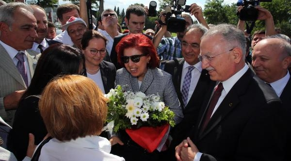 Cumhurbaşkanı Adayı Ekmeleddin İhsanoğlu Adapazarı'nda - Ek Fotograflar