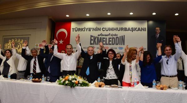 Cumhurbaşkanı Adayı İhsanoğlu Adana'da-ek Fotoğraflar