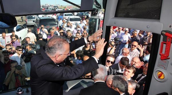Cumhurbaşkanı Adayı İhsanoğlu, Memleketi Yozgat'ta (2)