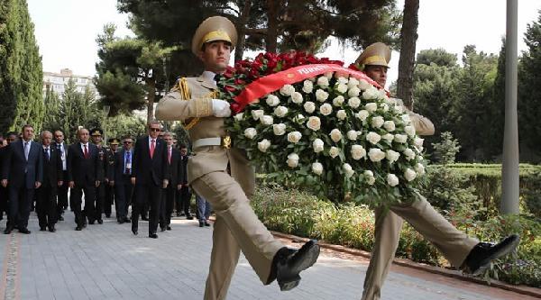 Cumhurbaşkanı Erdoğan Bakü'de (4)