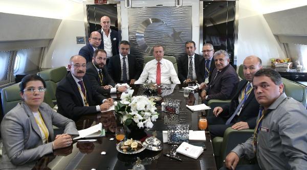 Cumhurbaşkanı Erdoğan Bakü'de (6)