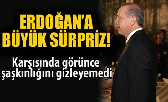 Cumhurbaşkanı Erdoğan'a 'Mondragon' sürprizi