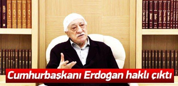 Cumhurbaşkanı Erdoğan'ı haklı çıkartan belge