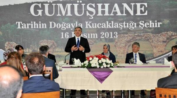 Cumhurbaşkani Gül, Ağaca Çikan 85'lik Halil Dedeyi Uyardi: Çikmak Kolay, Inmek Zordur (5)