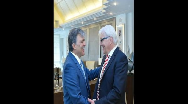 Cumhurbaşkanı Gül, Almanya Dışişleri Bakanını Kabul Etti