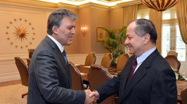 Cumhurbaşkanı Gül, Barzani İle Görüştü
