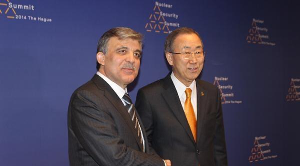 Cumhurbaşkanı Gül, Bm Genel Sekreteri Ban Ki Moon İle Görüştü (2)