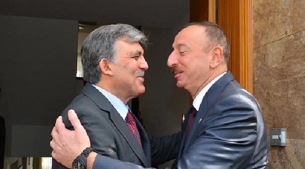 Cumhurbaşkanı Gül, İlham Aliyev İle Görüştü