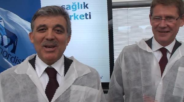 Cumhurbaşkanı Gül: İstanbulla Danimarka'da Bisiklet Kullanmak Farklı