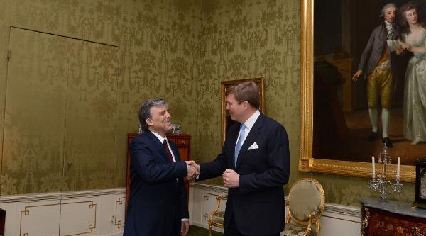 Cumhurbaşkanı Gül, Kral Alexander İle Görüştü