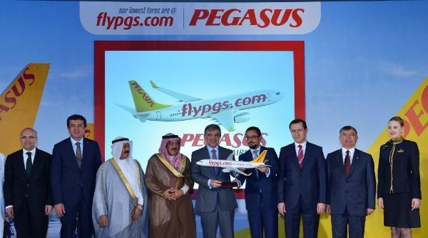 Cumhurbaşkanı Gül, Kuveyt'te Pegasus'un Kuveyt Hattı Açılış Törenine Katıldı (2)