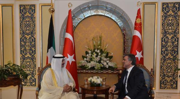 Cumhurbaşkanı Gül, Kuveyt'te Temaslarda Bulundu